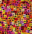 Icons background vector image