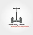 segway and company name vector image