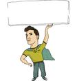 super employee vector image