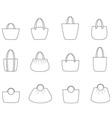 Handbag vector image