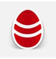realistic design element easter egg vector image