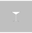cocktail computer symbol vector image