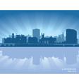 Limerick Ireland skyline vector image