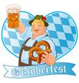 Oktoberfest Guy vector image
