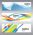 funky card vector image vector image