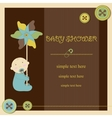 Baby shower - boy vector image