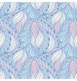 Hand drawn swirl fashion seamless pattern Doodle vector image