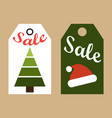 sale new year tags collection vector image