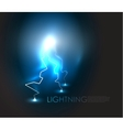 abstract lighning background vector image vector image