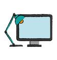 Computer icon image vector image