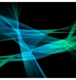 Abstract blue lines vector image
