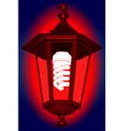 Red light vector image