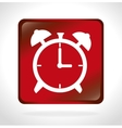 time clock watch wall isolated icon vector image