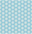 seamless hexagon background vector image vector image
