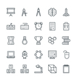 Education Cool Icons 4 vector image