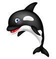 Orca Cartoon vector image vector image