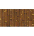 wooden cracked planks vector image