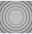 Concentric Grey 6 Circle Grey Background vector image