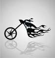 Motorcycle Tribal vector image