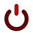Power symbol icon vector image