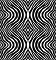Zebra pattern background texture vector image