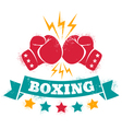 Logo for a boxing vector