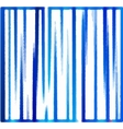 background of blue vertical stripes vector image