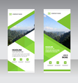 Business Roll Up Banner flat design template set vector image
