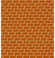 seamless brick pattern wall vector image vector image