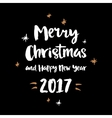 Christmas and winter theme poster vector image