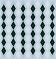 emerald pattern vector image vector image