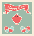 Easter Icons and design elements vector image vector image