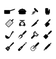 Kitchen tool icon vector image vector image