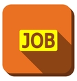 Job Title Longshadow Icon vector image