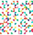 Abstract geometric seamless pattern with vector image