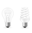 light bulb 12 vector image
