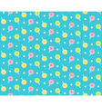 Seamless bright childish abstract pattern with vector image