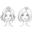 Princess Sketches style vector image
