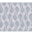 seamless pattern with seashells on a gray backgrou vector image vector image