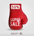 Boxing day shopping creative sale idea vector image vector image