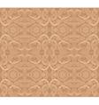 Vintage baroque geometry floral ornament vector image
