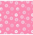 sweet donuts seamless pattern Pastry background vector image