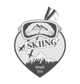 Ski and snowboard Club vector image