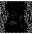 Chalkboard border vector image