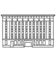 Berghain Berlin vector image