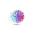 Golf Ball Concept vector image