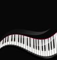 grand piano keys vector image