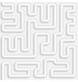 Metallic bent pipes Seamless pattern vector image