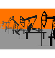 oil factory vector image