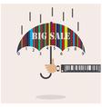 Creative abstract shopping logo design vector image